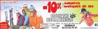-10% sur toutes les solaires et masques de ski! valable sur la nouvelle collection